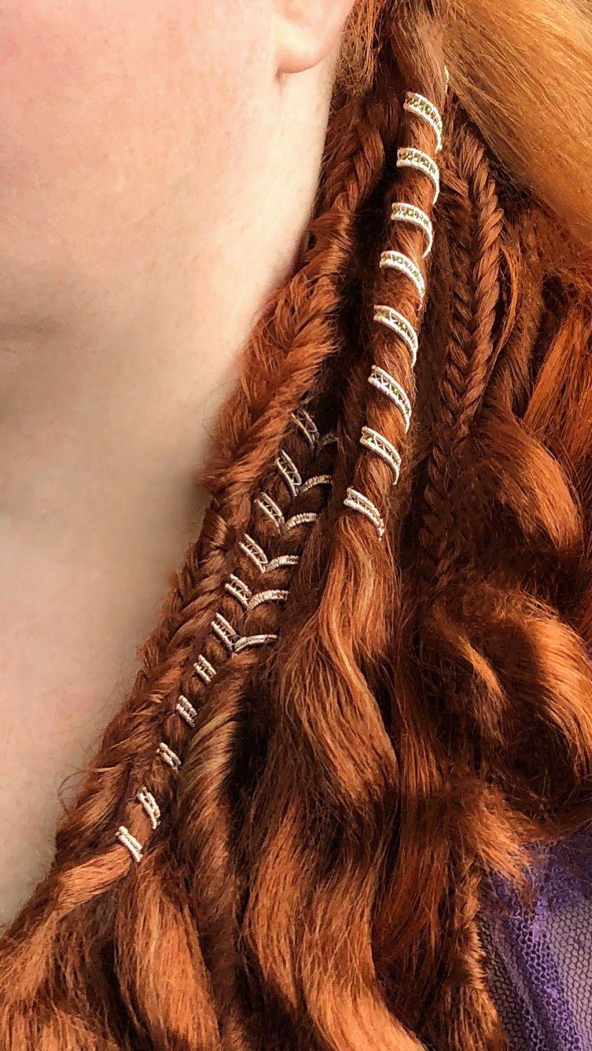 Dreadlock Beads  Custom Haircuff Set  Dread Beads Custom   Etsy