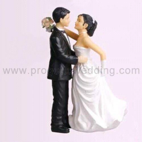 Sposi danzanti  Un cake topper ideato per gli sposi più romantici.  www.progettowedding.com