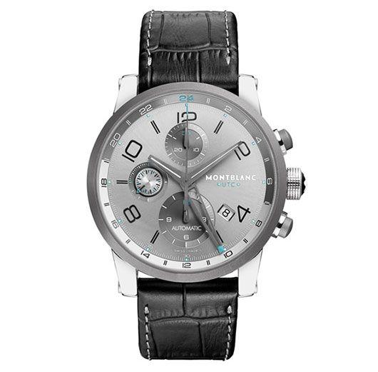 8c7e67f4d37 Mont Blanc TimeWalker ChronoVoyager UTC Watch Relogio Rolex Masculino