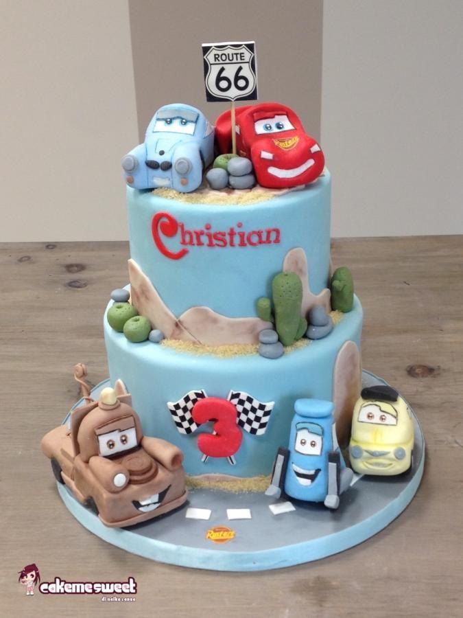 Cars Disney cake - Cake by Naike Lanza