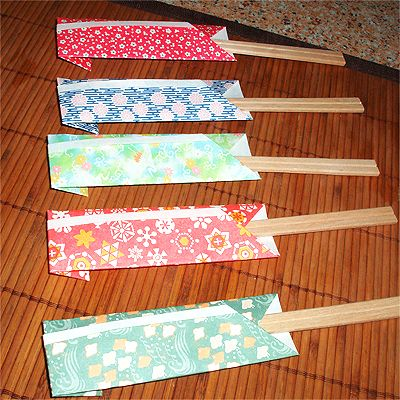 Chopstick Wrapper Origami Google Search De Papel Pinterest
