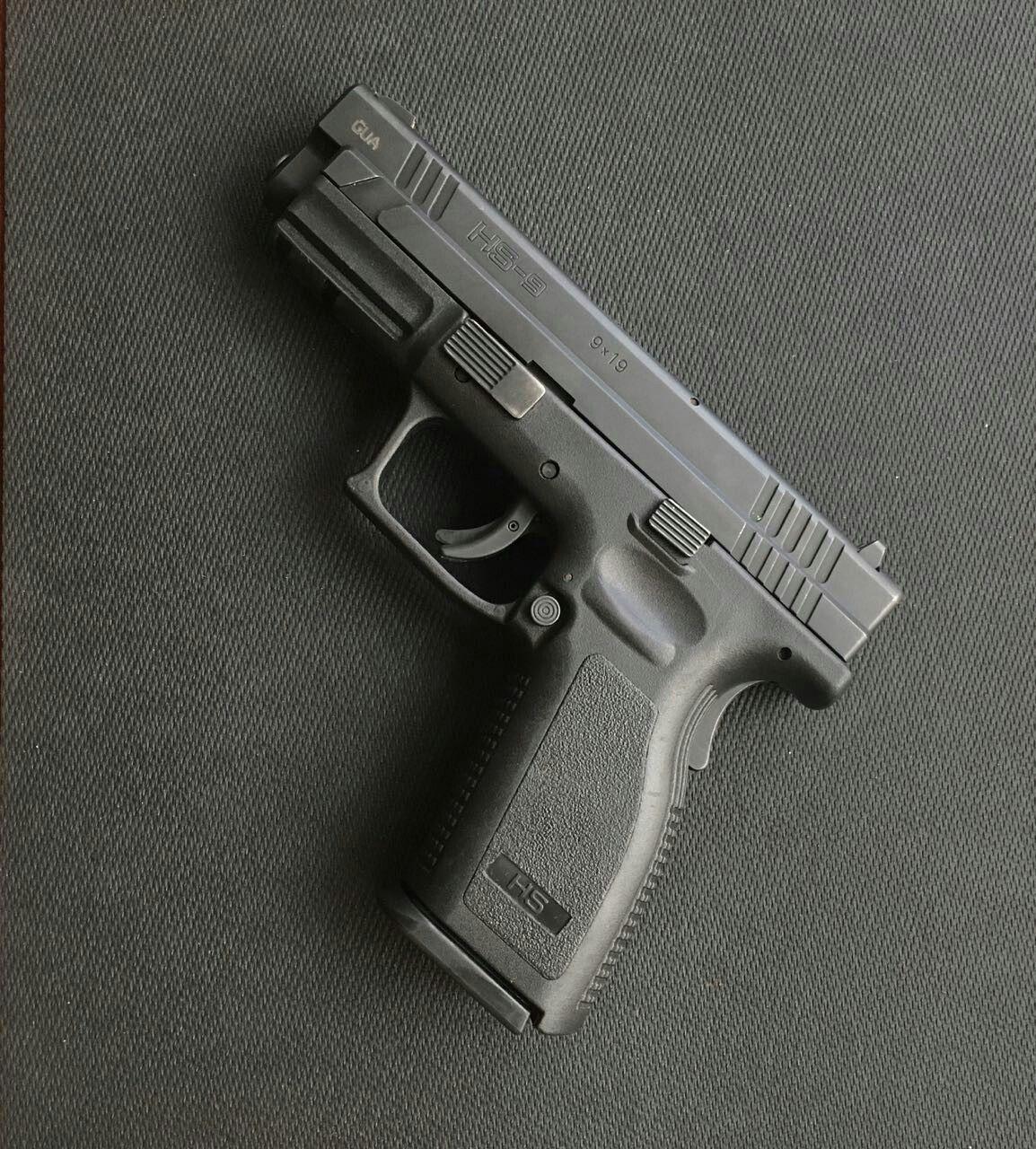 HS -9 cal 9 mm 2 tolvas de 16 tiros Croata. | de Marco Armas ...
