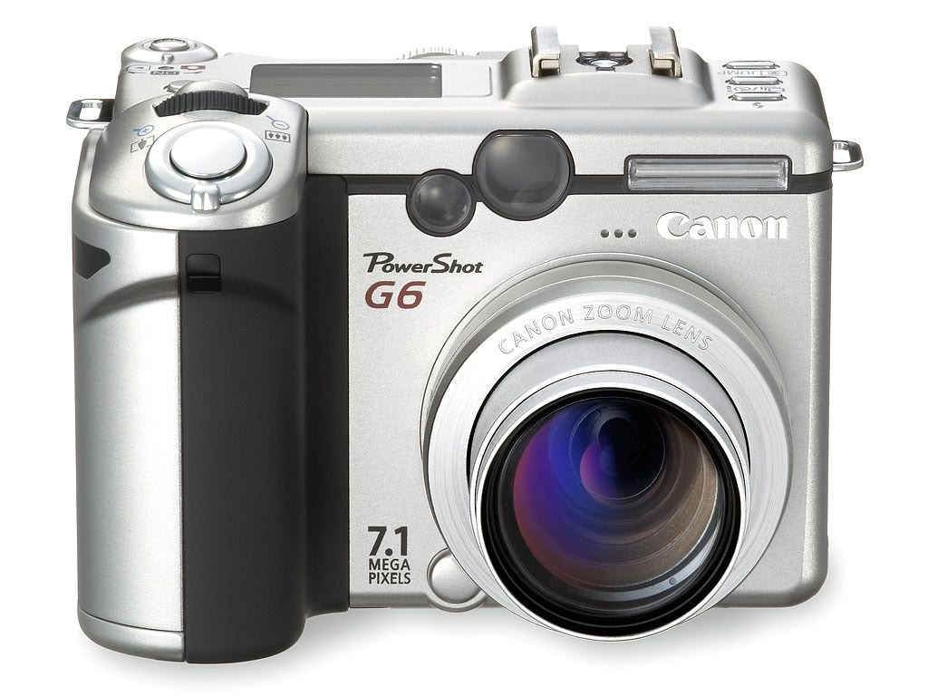 Canon Powershot G6 7 1mp Powershot Digital Camera Camera