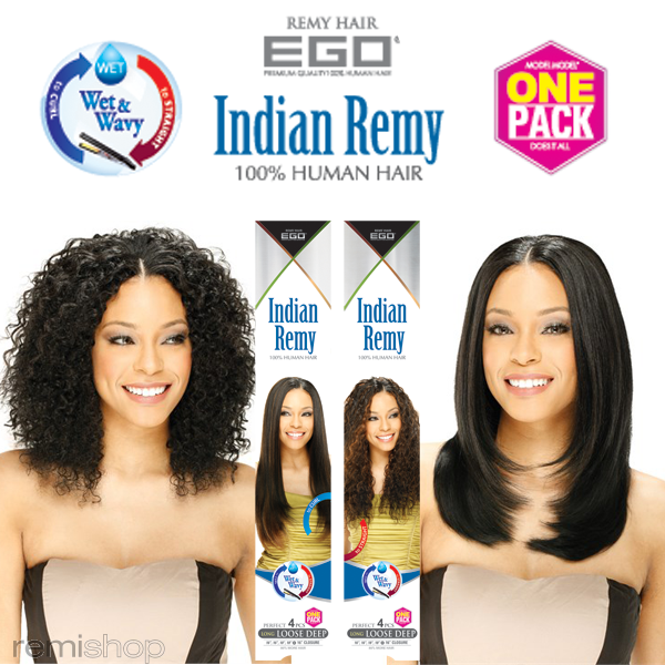 Ego Perfect 4 Pcs Jerry Curl 8101214 Color 4 Indian Remi