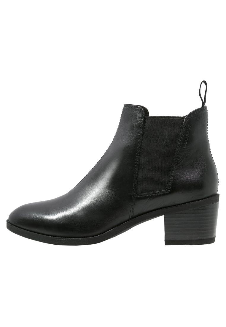 Vagabond Yarin Botki Black Zalando Pl Black Ankle Boots Black Boots Chelsea Boots
