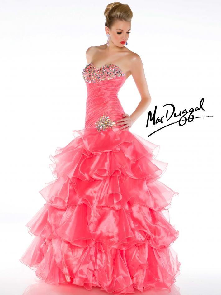 Mac Duggal Ball Gowns | Quinceañera | Pinterest | Rosas, Color y ...