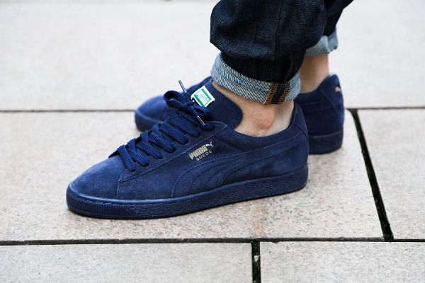 puma classic bleu