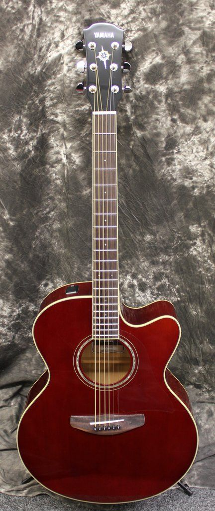 Yamaha Cpx 600 Root Beer Acoustic Electric Guitar Acoustic Guitar For Sale Acoustic Electric Guitar
