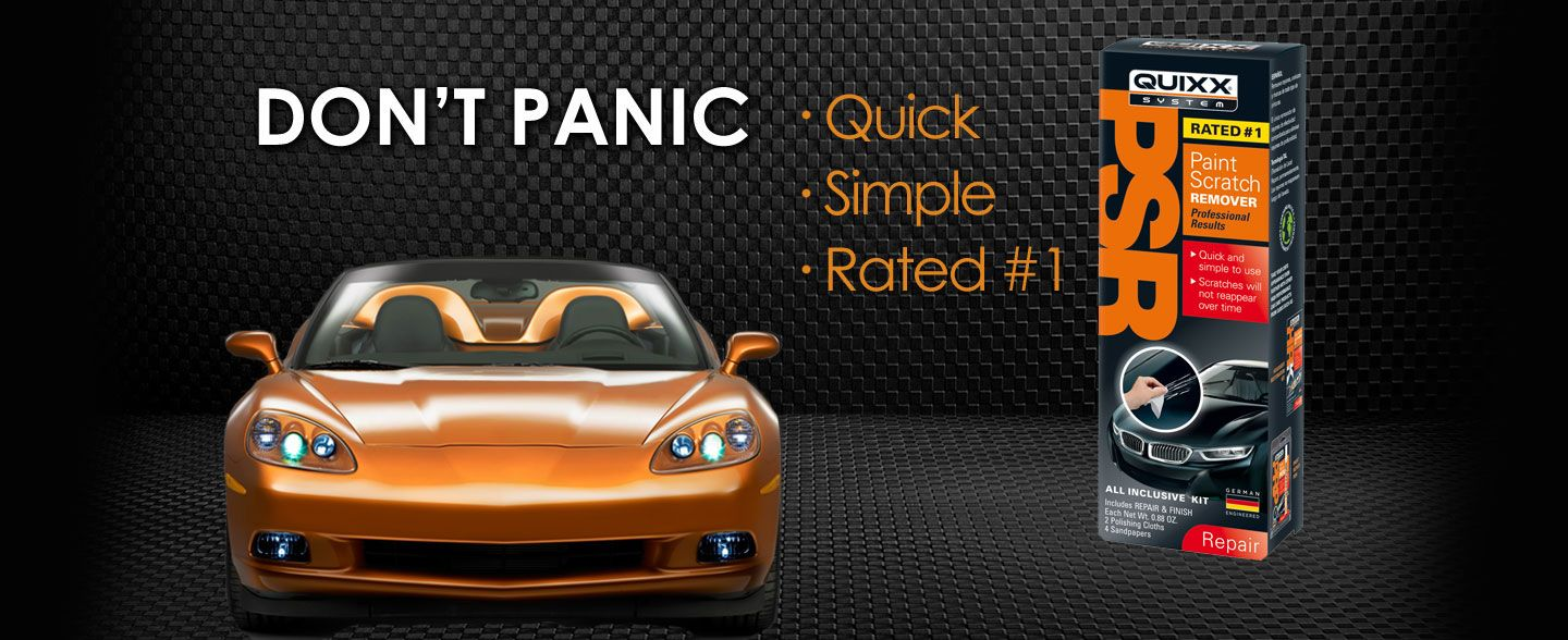 Quixx Repair Systems | Rated #1 Automotive Paint Scratch