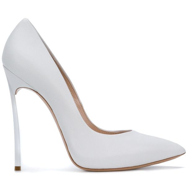 classic pointed pumps - White Casadei GXUBO1