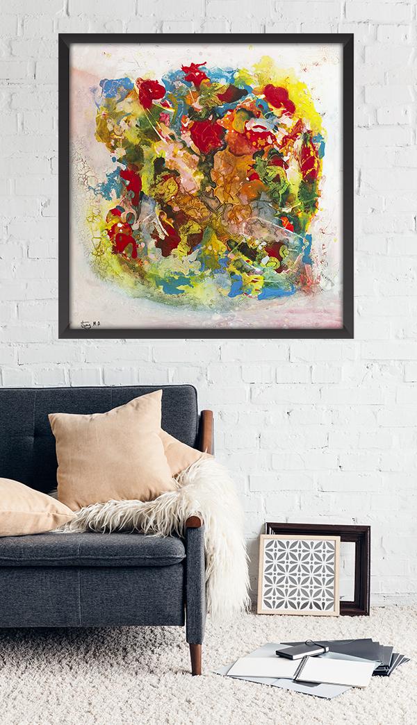 wall art abstract modern decor painting also rh pinterest