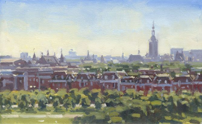 Den Haag in tegenlicht
