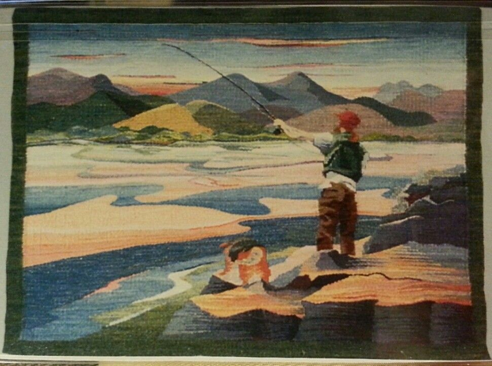 Sarah Swett  Dan Fishing 1996