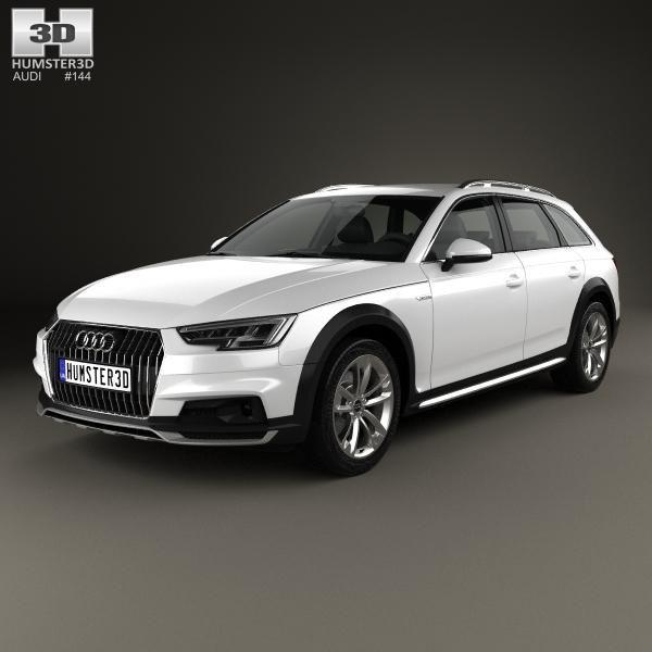 Audi A4 (B9) Allroad 2017 3D Model #AD ,#Audi#Model