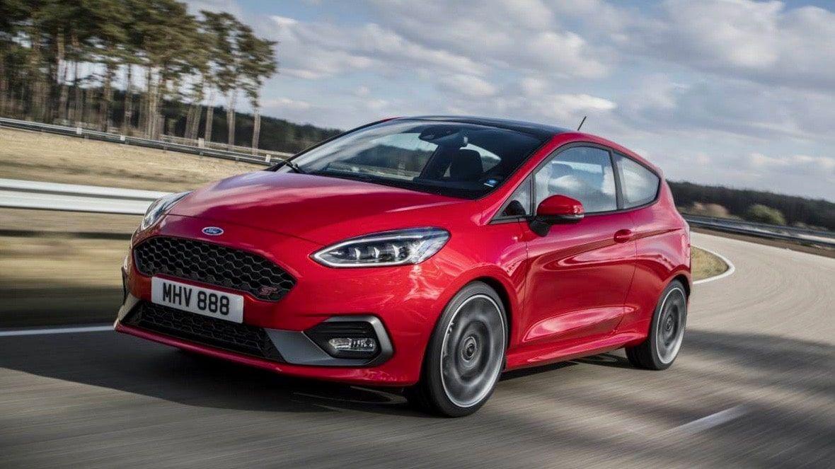 cele mai bune mașini sport sub 30k 2019 Ford Fiesta ST