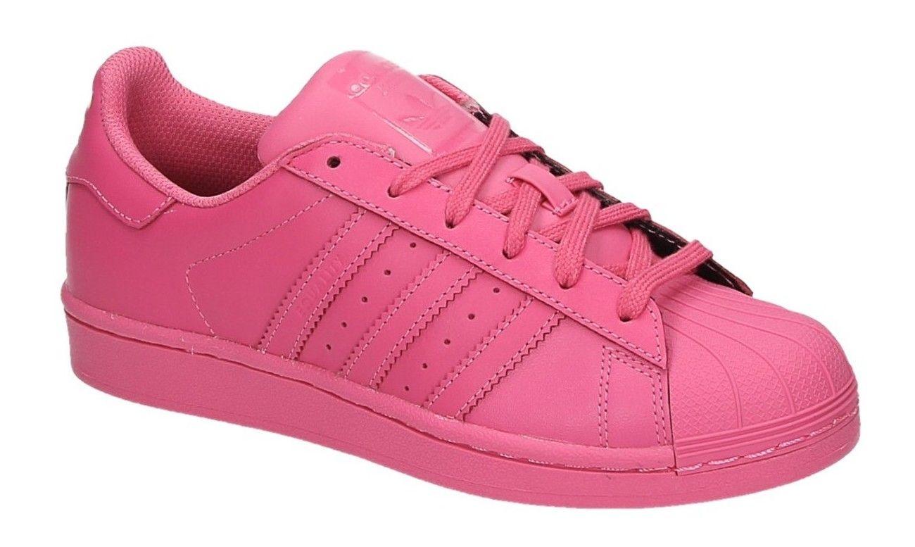 adidas superstar helemaal roze