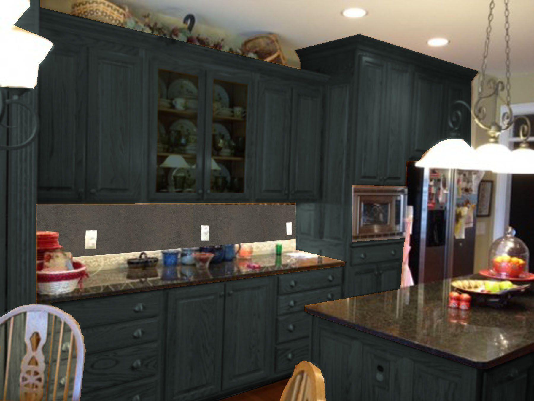 Kitchen Ideas Inspiring Painting Oak Cabinets Painting Oak Cabinets Oak Kitchen Cabinets Dark Brown Home Design Ideas Painting Oak Kitchen Kitchen Ideas Inspir
