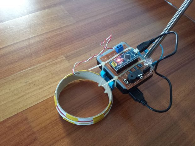 Simple arduino metal detector metals and raspberry