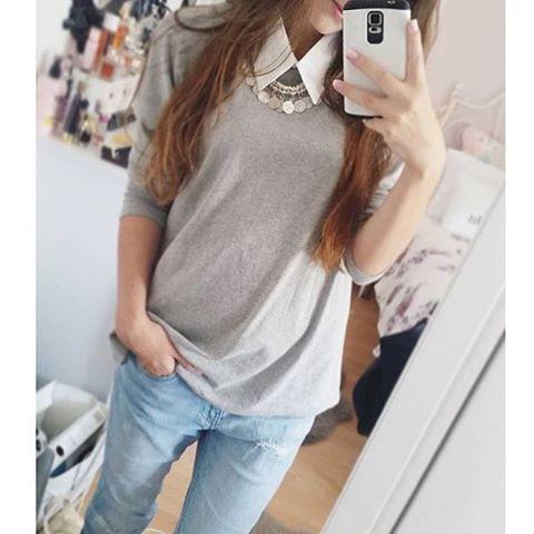 Silver Toned Ancient Coins Statement Necklace #fashion #style #ootd #silvernecklace #statementnecklace - 19,90  @happinessboutique.com