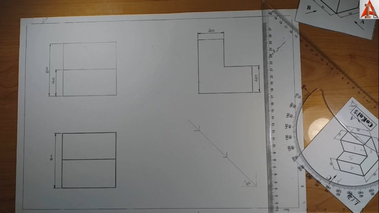 لوحة رسم هندسي