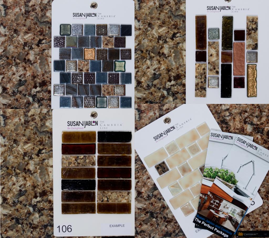Easy Mosaic Tile Backspash Is DIY Worthy   Canterbury, Kitchens ...