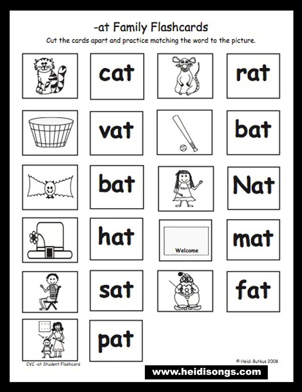 Common Core Literacy Centers: Phonics Spoons