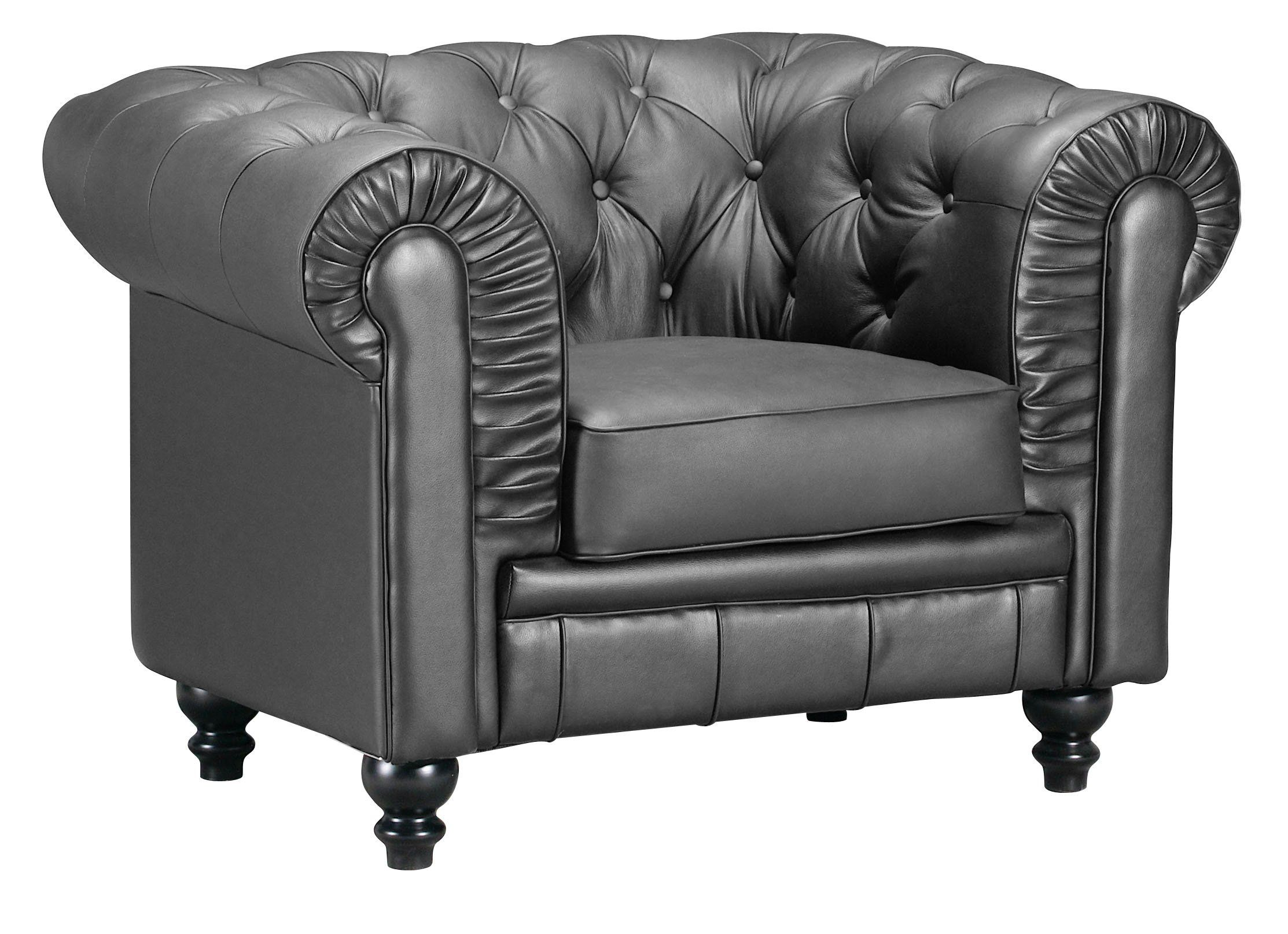 Best Aristocrat Arm Chair Black Living Room Chairs Modern Modern Leather Sofa Chair 400 x 300