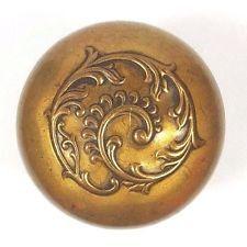 Collectible Antique E111 Brass Doorknob US Steel Lock C. 1900 Door Knob  Hardware