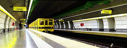 Buenos Aires Underground, was the first underground railway in Latin America, the Southern Hemisphere and the Spanish speaking world,