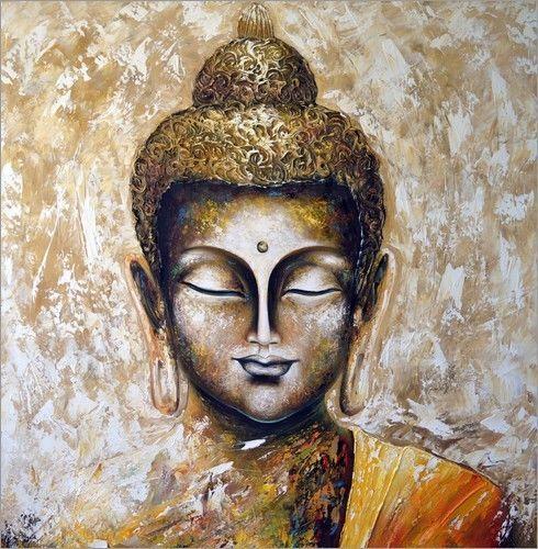 Buddha Leinwandbild