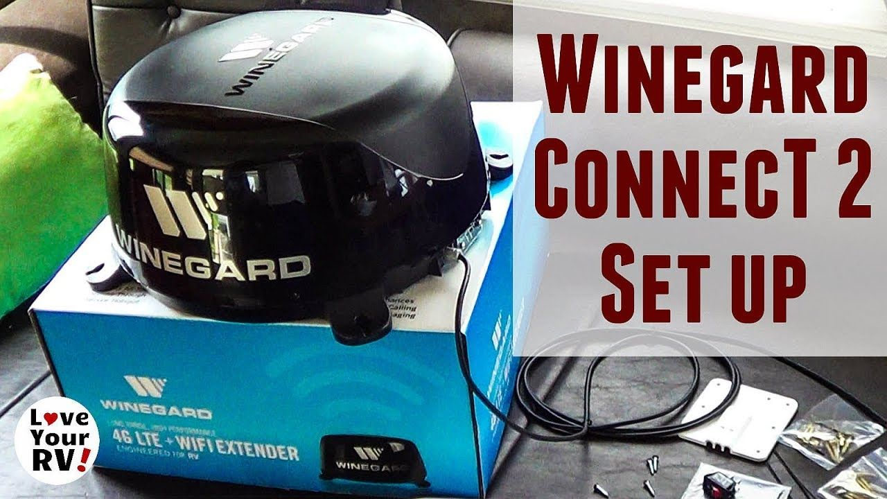 Setting Up My New Winegard ConnecT 2 0 (WiFi & 4G LTE ...