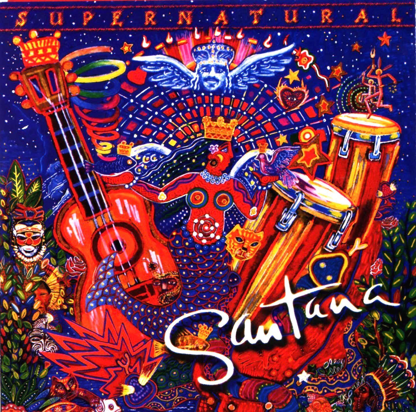 Santana - Supernatural -   Music