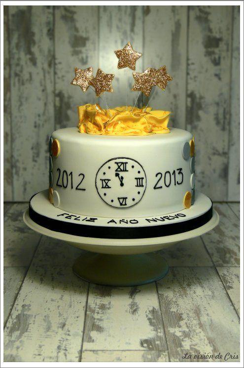 New years eve Cake | Many Cakes | Silvestertorte, Torten ...