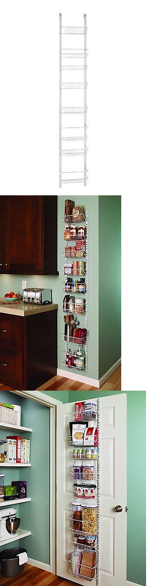 Racks And Holders 46283: Closetmaid Adjustable 8 Tier Wall And Door Rack 12  In