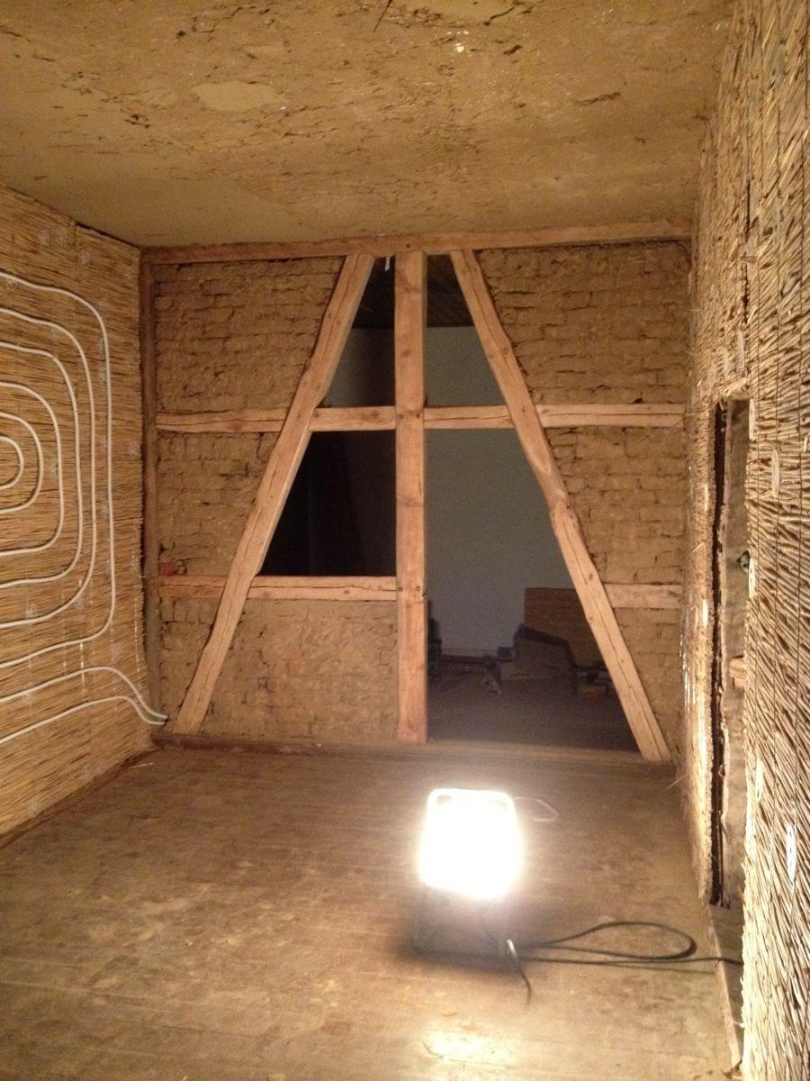 Bruchsteinwand Sanieren traditioner lehmrestauration für innenwände und decken inkl