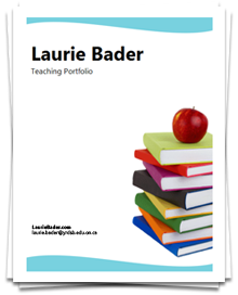 Teaching portfolio great examples career corner for Professional teaching portfolio template