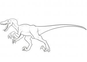 How To Draw A Velociraptor Velociraptor By Dawn With Images