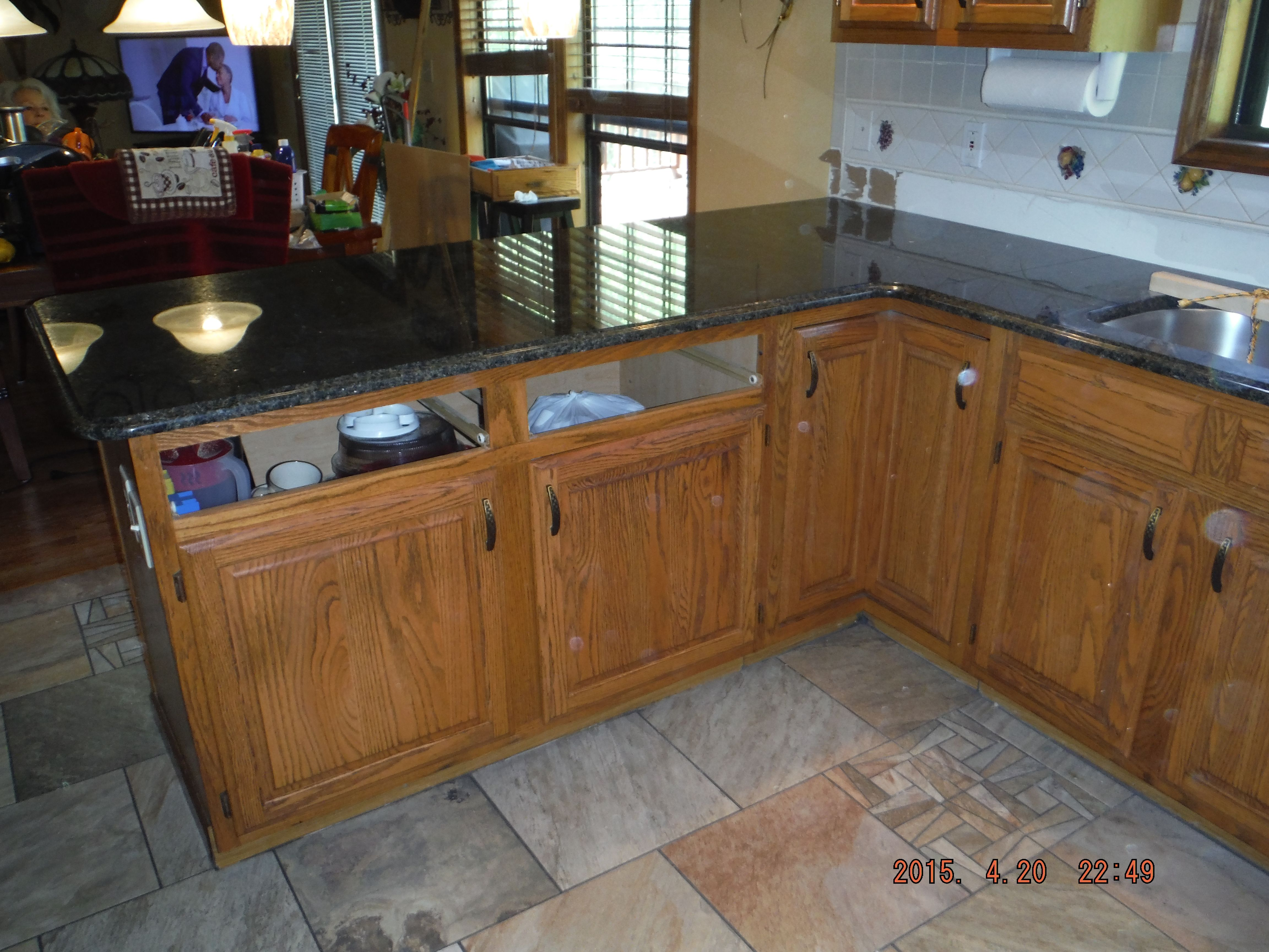 Uba Tuba Granite Kitchen Countertop Install For The Waddle Family.  Knoxvilleu0027s Stone Interiors. Showroom