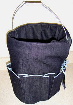 Use This Free Pattern To Sew A 5 Gallon Bucket Organizer