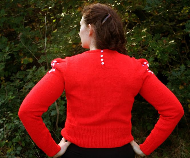 The Butterfly Balcony The Perfect Christmas Jumper Knitting Pattern