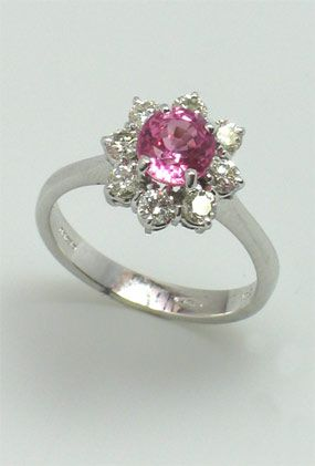 Pink Sapphire Ring from JLA
