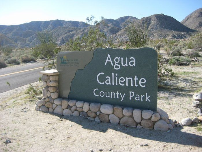 Agua Caliente County Park Near San Diego With Natural Hot Springs U0026 Camping  Cabins