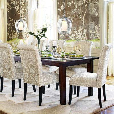 Table And Chairs From Pier 1 Angela Deluxe Dining Chair  Ivory Captivating Ivory Dining Room Set Review