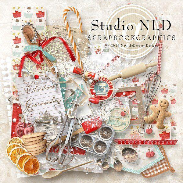 Christmas Gourmandises By Newlifedreams Designs Scrapbookgraphics