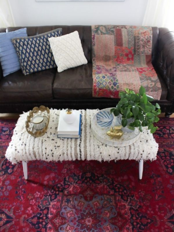18 Awesome DIY Coffee Table Ideas To Upgrade Your Living Room