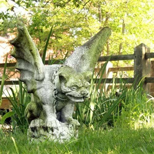 Everyone needs a garden Gargoyle Gargoyles Pinterest Statue