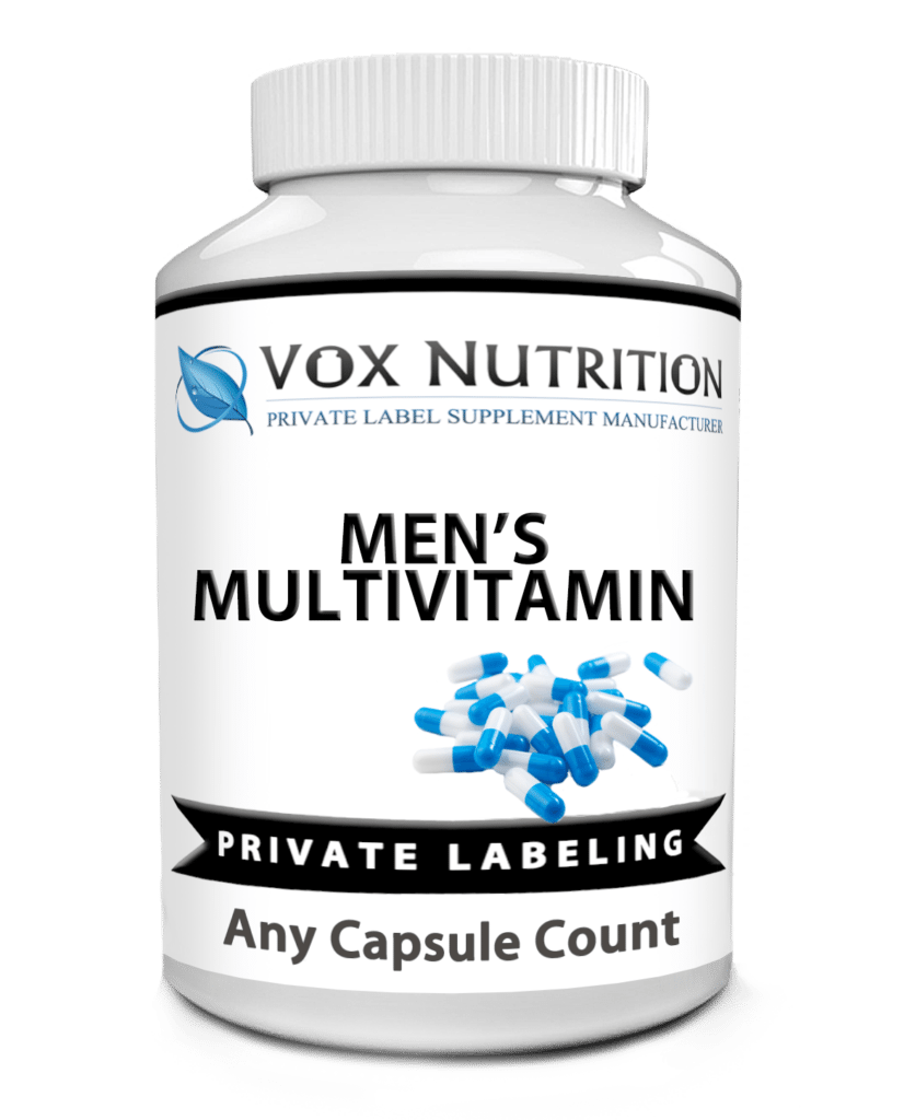 Private Label Mens Multi Vitamin Supplement Sports Nutrition