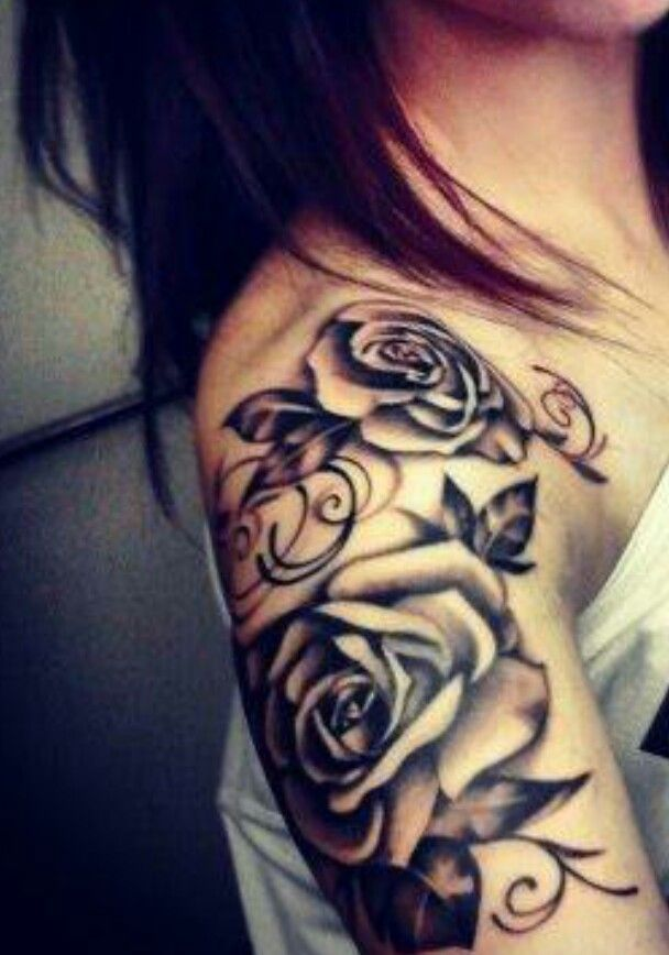 Rose Tattoofor Arm To Chest: Awesome Ink & Piercings