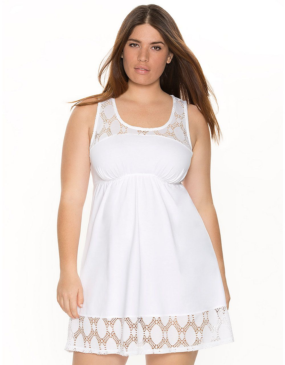 79deafb052e Eyelet Knit Chemise by Cacique