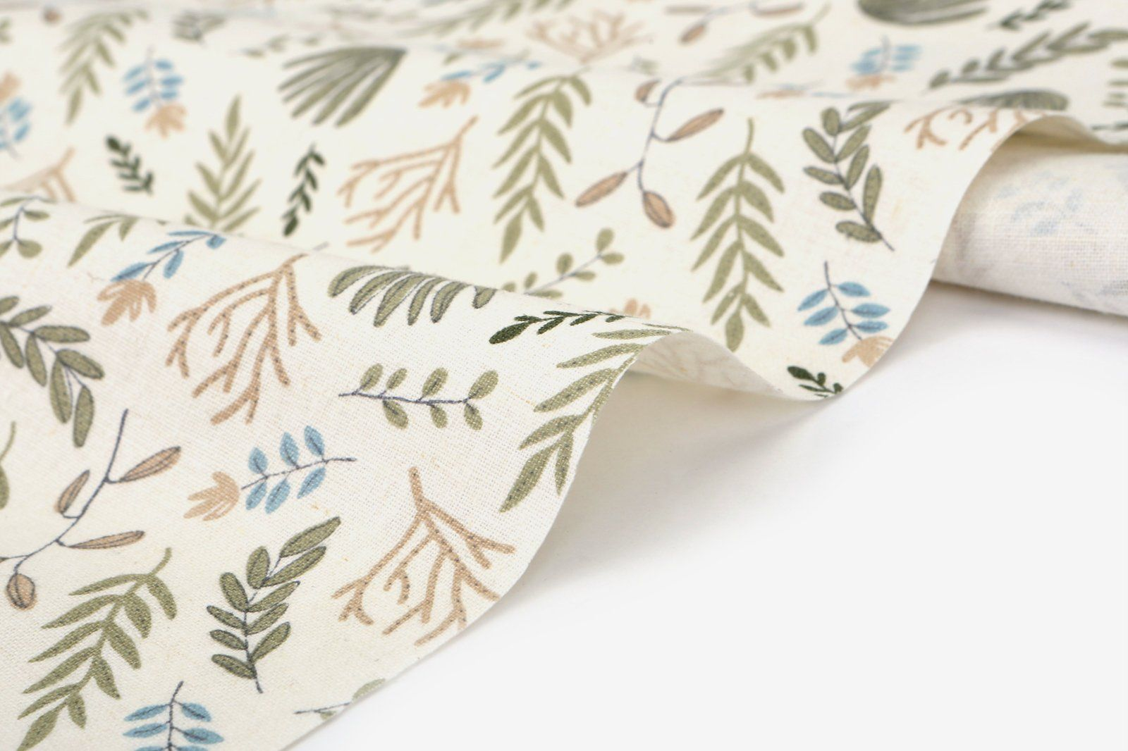 1 2 Yard Linen 100 Leaves Memory 60 Wide Dailylike Canada By Dailylikecanada On Etsy Linen Fabric Handmade Canvas Fabric